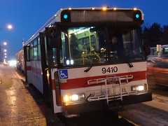 Toronto Transit Commission 9410 on 196 York University Rocket (Orion V) Tags: ttc