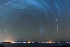Lago Titikaka (Pietro Sella) Tags: longexposure sky night star long bolivia sud stelle isladelsol startrail lagotitikaka lungaesposizione