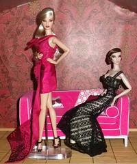 Jolie&Elise 1-2-15 (tecno_79) Tags: family elise daughter mother jolie gowns exclusive fr2 madamoiselle fashionroyalty wclub fashiondolls redressed integritytoys jasonwudolls