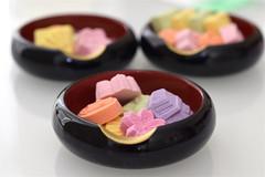 WASANBON () (littlekiss) Tags: food season colorful sweets wagashi japanesesweet wasanbon  littlekiss