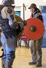 [2015-02-22@15.05.38a] (Untempered Photography) Tags: training fight helmet medieval teen axe shield armour reenactment chainmail canonef50mmf14 platearmour gambeson mailarmour untemperedeye canoneos5dmkiii kernowlevy otterhamandstjuliothall untemperedeyephotography