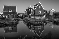 Marken (karinavera) Tags: travel bw holland photography ps marken ipadedition nikond5300