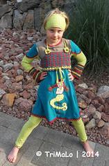 Marylou + HippMe Shirt (TriMaLo #IndiWieDuelles {Web:Design;}) Tags: world marylou beate farbenfroh mannes prinzessin farbenmix tunika janeas häkeltunika zwergenschön mixshirt hippme