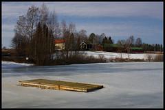 Ljgodttjernet 15.03.15 (Krogen) Tags: norway landscape norge spring norwegen akershus romerike vr krogen landskap ullensaker hovin ljgodttjernet omzuiko28mm28 sonya6000