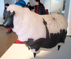 TO Sheep (Georgie_grrl) Tags: toronto ontario cute artwork cntower sheep expression culture chinesenewyear celebration event lunarfest harbourfrontcentre canonpowershotelph330hs mynewdarkpinkside yearofthewoodsheep tdotsheep