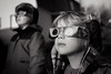 Mesmerized by the sun (Dalla*) Tags: portrait sun white black nature boys kids glasses solar eclipse iceland science reykjavik gazing 2015 wwwdallais
