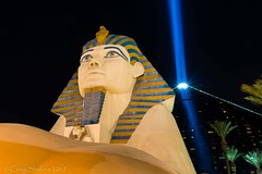 Luxor #1 - Las Vegas, NV (craig.shaknis) Tags: sphinx night pyramid lasvegas nevada casino nv luxor 2015