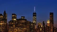 Manhattan from Brooklyn Heights Promenade (chogokinjawa) Tags: city newyorkcity longexposure nightphotography usa newyork building skyscraper buildings nikon skyscrapers nightshot unitedstatesofamerica sigma nightshots newyorkbynight cityskylines immeubles sigmalens citybuildings nikondslr nikond90 sigma18250mmf3563 summer2014 july2014 sigmamacrohsm