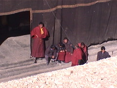 Pilgrims Sakya Monastery