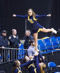 Murray State Cheerleaders 2015 (Paul Robbins - BNA-Photo) Tags: cheerleaders cheer cheerleader cheerleading murray murraystateuniversity ovc collegecheerleader collegecheer ovctournament cheercollege ovctournament2015 murraycheerleaders