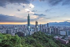 taipei 101 () Tags: city clouds canon landscape landscapes scenery taiwan tokina  taipei101   101 600d tokina1116f28