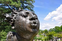 La Sopladora Grande (Trish Mayo) Tags: sculpture art cemetery bronze greenwoodcemetery greenwood thebestofday gnneniyisi