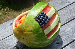 4th of July Recipe Ideas (Rob.Bertholf) Tags: food idea humboldt dish strawberries blueberry mango 4thofjuly independenceday humboldtcounty blueberries watermellon foodidea