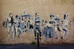 SOBRE_7291 passage Saint Sbastien Paris 11 (meuh1246) Tags: streetart paris danse sobre paris11 passagesaintsbastien