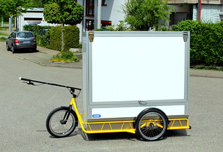 Abschließbare Paketbox