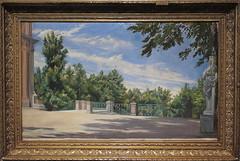 IGNACIO SUAREZ LLANOS - JARDINES DE LA GRANJA (mflinera) Tags: de asturias museo oviedo artes pintura bellas