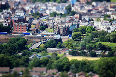 monmouth (paulatgibson) Tags: monmouth wales uk tiltshift town