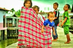 Bajau Laut Local Sabahan Children (thegunznroses1904) Tags: amateurtobepro d90 nikon travellight azizasrar sabah malaysia bajau children