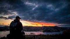 Twilight (Loc Tri Le) Tags: sun colors beautiful clouds canon twilight 5d f4 pinkclouds markii 24105