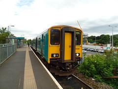 150236 Aberdare (3) (Marky7890) Tags: station train railway sprinter dmu atw rhonddacynontaf aberdare class150 150236 2a28
