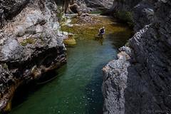 Hook Cast (john.c.arnold) Tags: creek fishing scenery montana rocks stream hiking cliffs pools backcountry flyfishing wilderness trout