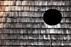 The Hole Idea (airSnapshooter) Tags: hole black circle roof shingle canoneos6d canonef70200f4l österreich nassereith wood texture lines abstract outdoor