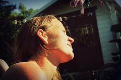 Canon EOS 60D - PicMonkey - Lomo Fakers - Tabby soaks up the sun (TempusVolat) Tags: picmonkey tabby girl woman garden sunbathe sun sunlight suntan lomo lomography hair face sunbather neck skin burn burnt hot sunny warm warmth sunray gareth wonfor tempusvolat garethwonfor tempus volat mrmorodo