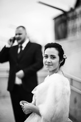 E&J Wedding (Elvijs Vitins) Tags: wedding castle blackwhite couple photographer mcdonalds latvia pils weddingphotographer rga latvija jelgava kzas helios40 kzufotogrfs