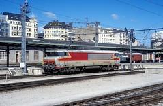 15020  Luxembourg  07.09.96 (w. + h. brutzer) Tags: luxembourg eisenbahn eisenbahnen train trains frankreich france railway elok eloks lokomotive locomotive zug 15000 sncf webru analog nikon