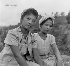 Filipina women, WWII battle for Baguio Philippines late Feb. to early April 1945 (2) (J. Tewell) Tags: filipina oldphilippines oldbaguio wwiibaguio battleforbaguio