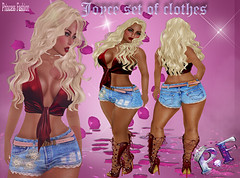 Joyce set of clothes L$150 (princessfashion100) Tags: tagsslink omega tmp second life lolas belleza banned appliers mesh body sl freebie dollarbie hunter free marketplace interior labelmotion kitja spirit breathe lelutka pinkfuel wasabipills uber ryca reign