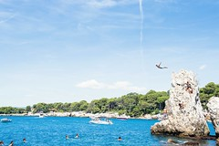 334/365 Angel (darioseventy) Tags: diving tuffo cliff scogliera high alto sea seaside mare summertime summer estate costazzurra frenchriviera cotesazure