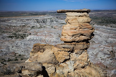 From every direction... (Squirrel Girl cbk) Tags: sanjoseformation newmexico sandstone tertiary geology 2016 july badlands nacimientoformation concretions