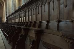 Chairs (MrBlackSun) Tags: abbey abbaye abbatiale saintrobert chaisedieu clement clementvi france auvergne hauteloire nikon d810 nikond810