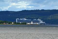 Caribbean Princess (Zak355) Tags: caribbeanprincess cruise ship riverclyde shipping boat vessel scotland scottish towardlighthouse