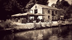 The Wharf Caf, Cromford Canalside (RichardK2010) Tags: zuiko17mmf18 heritagesite cromfordmills caf wharf snapseed canalside canal derbyshire cromford olympuspenf olympusuk