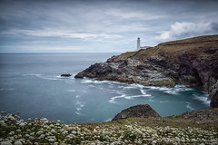 Trevose Head Lighthouse near Padstow, Cornwall (Sara Rance Photography) Tags: long exposure 2016 artwork cornwall crackingphotography lighthouse longexposure northcornwall photo photography photos prints sararance sararancephotography sea snappysquiggle southwest trevose trevosehead uk unitedkingdom wallart british coast england seascape summer wwwcrackingphotographycouk