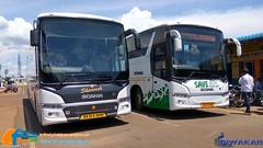 Bangalore riders (Dhiwakhar) Tags: parveen kpn scania bangaloreriders