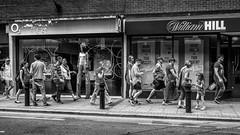 Stilts (fishyfish_arcade) Tags: 20mmf17 gx7 lumix panasonic panasonic20mmf17asphlumixg blackwhite blackandwhite bw monochrome mono streetscene streetphotography stilts