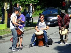 Bongo Brain (knightbefore_99) Tags: carfreeday sun sunny eastvan vancouver 2016 party street italy italian west coast bongo band commercialdrive thedrive bc