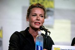 Connie Nielsen (Gage Skidmore) Tags: connie nielsen ming na wen morena baccarin melissa benoist nathalie emmanuel tatiana maslany lucy lawless san diego comic con international california convention center ew entertainment weekly women who kick ass