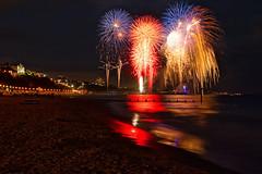 Bournemouth Pier Fireworks (mpelleymounter) Tags: bournemouth bournemouthbeach bournemouthpier alumchine dorsetlandscape fireworks bournemouthtourism pier sea sand dorset dorsettourism explosions bournemouthfireworks markpelleymounter