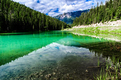 Olive Lake (Modern Day Explorer) Tags: olive lake kootenay national park british columbia canada