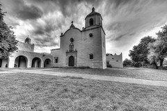 Mission Zuniga high contrast-2 (Jasonflo) Tags: goliadtexas nuestraseoradezuniga spanishmission