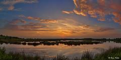 Abendstimmung im Moor - 24071601 (Klaus Kehrls) Tags: himmelmoor landschaft natur panorama sonnenuntergang quickborn schleswigholstein himmel wolken