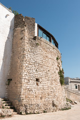 IMG_7740 (jaglazier) Tags: 13thcentury 13thcenturyad 15thcentury 15thcenturyad 17thcentury 17thcenturyad 2016 8216 apulia architecture august buildings castles centrostorico cittabianca copyright2016jamesaglazier fortresses forts hilltowns houses italy oldtown ostuni spanish stairs towers urbanism walls whitecity circuitwalls cities roundtowers staircases stairways streetscapes whitewash whitewashed puglia