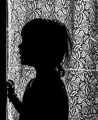 in profile (krllx) Tags: bw nikc sh blackandwhite face light menneske monochrome people portrait profil silhouette 20160806dsc01542edit201608061