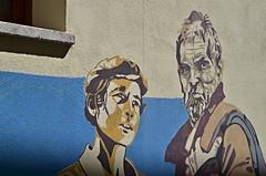 (robra shotography []O]) Tags: italy sardinia orgosolo murales streetart italia barbagia