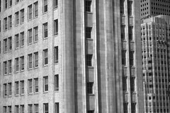 Reflected Windows (JB by the Sea) Tags: sanfrancisco california october2016 sanfranciscomuseumofmodernart sfmoma urban pacbellbuilding pacificbellbuilding 140newmontgomery blackandwhite bw reflection window windows
