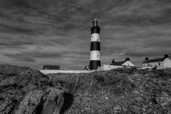 """ST JOHN'S POINT LIGHTHOUSE, COUNTY DOWN, N. IRELAND. (ZACERIN) Tags: """"st johns point lighthouse"""" """"pictures of st """"history """"county down"""" """"n ireland"""" """"lighthouse"""" """"seaside"""" """"irish sea"""" """"lighthouses"""" """"lighthouses in the uk"""" """"uk lighthouses"""" uk """"zacerin"""" """"christopher paul photography"""" """"picures lighthouses irish ireland only"""" point"""" foghorn"""""""
